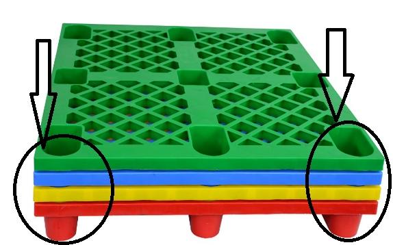 夏天闲置塑料托盘如何存放?